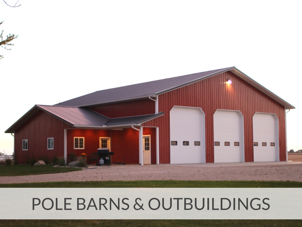 Pole Barns and Outbuildings - Schutter Bros  Builders